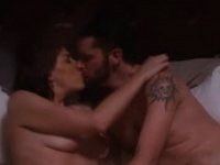 Amazing couple taking shower together