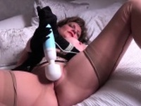 Adulterous british mature lady sonia flaunts her huge tits03