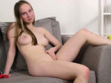 Insatiable teen pleases tight slit until she is getti06mHr