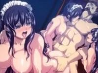 Hentai Whores Get A Hardcore Hentai Sex Interrogation