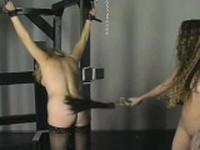 Woman endures bondage sex at home in dilettante movie scene