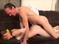 Prurient russian nympho dazzles with crazy sucking