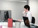 Hentai hentai maiden giving blowjob to her boss