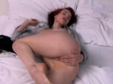 Redhead loves pussy gaping