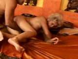 mature naked on coach