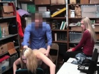 Pawn shop police woman and interracial first time Both