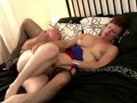 British mature in stockings gets d Wanetta from 1fuckdatecom