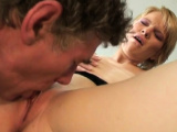 Enticing blonde Diana gets groped and fucked