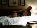 London girlfriend in bed