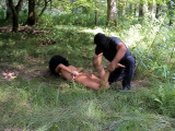 Luna tortured outdoors part 7