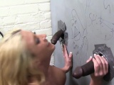 Leya Falcon Squirts All Over BBC - Gloryhole