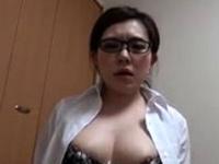 Brunette whore gives a succulent pov blowjob