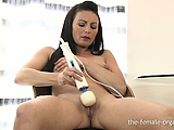 MultiOrgasmic Babe has Numerous Pussy Pulsating Orgasms