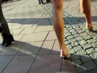 Amateur Foot Fetish Picking Up Girls in Shibuya Part 2