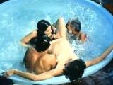 Spring Finlay, Justina Lynn, Kris Ware in vintage porn clip