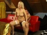 Granny Rides Dick Like A Teen