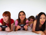 Teen triple anal penetration first time Gamer Girls