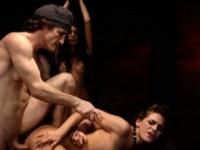 Teacher dominates student Two young sluts, Sydney Cole