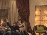 Amateur swinger couple joins the House