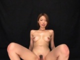 Large boobed awesome girl rides the knob