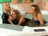 Wam glam lesbo spanked