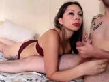 Lingerie Handjob With Cum Massage