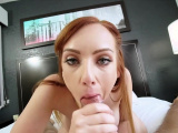 Redhead MILF stepmother taboo fuck with lucky stepson