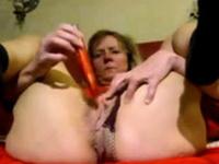 Husband and girl masturbating together