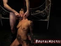 German punish Excited young tourists Felicity Feline and