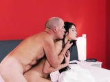 Mature daddies and old man cums in young girl first time