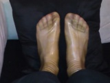 Our Toes relaxing in clear Latex Clothes - facebook