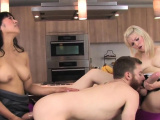 Sweeties nail fellows butt hole with huge strapons an72ZAd