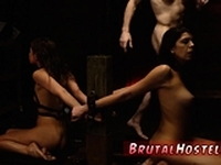 Teen ass gangbang first time Lucky for these 2 a bossly