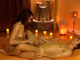 She Learns How To Relax His Dick
