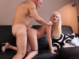 Blonde sloppy blowjob and daddy tits xxx Horny ash-blonde