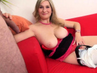 Blonde With Huge Boobs Fucked