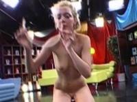 Playful cum girl