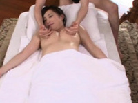 Spicy gal Mao Kurata with impressive tits moans loud