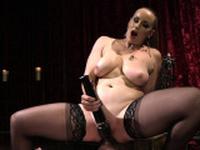 Divine bitch anal fucks male slave