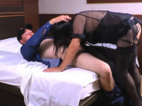 Cable guy Pablo squirts his warm load on Andreas hairy cunt