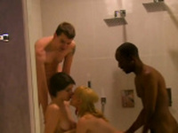 Swingers are teasing each other