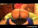 Shawty Redd Sexy ASS Twerk in Kitchen - Ameman