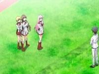 Three horny hentai schoolgirls gets their photos taken