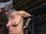 Frisky blonde sweetheart is playing with herself