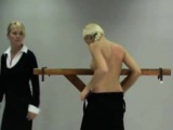 Blonde Flogged By Dominatrix