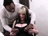 Cheating blonde bbw spreads legs for huge black meat