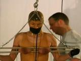 Intense breasts torture fetish