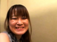Lovely aged japanese babe gives a steaming sexy blowjob