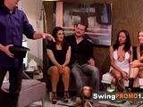 Couple surround themselves with swingers