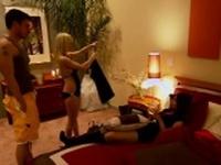 Nasty girl enjoys being spanked